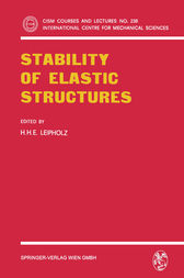 Stability of Elastic Structures by H.H.E. Leipholz