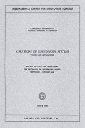Vibrations of Continuous Systems by Eberhard Brommundt
