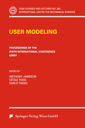 User Modeling by Anthony Jameson