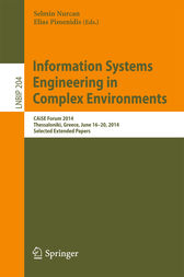 Information Systems Engineering in Complex Environments by Selmin Nurcan