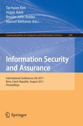 Information Security and Assurance by Tai-Hoon Kim