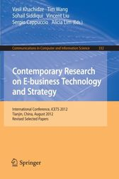 Contemporary Research on E-business Technology and Strategy by Vasil Khachidze