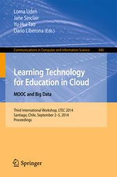 Learning Technology for Education in Cloud - MOOC and Big Data by Lorna Uden