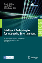 Intelligent Technologies for Interactive Entertainment by Dennis Reidsma