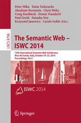 The Semantic Web – ISWC 2014 by Peter Mika