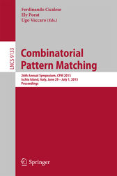 Combinatorial Pattern Matching by Ferdinando Cicalese