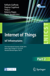 Internet of Things. IoT Infrastructures by Raffaele Giaffreda
