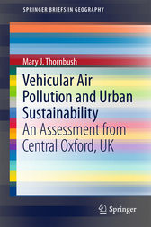 Vehicular Air Pollution and Urban Sustainability by Mary J. Thornbush