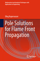 Pole Solutions for Flame Front Propagation by Oleg Kupervasser