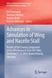 Advances in Simulation of Wing and Nacelle Stall by Rolf Radespiel