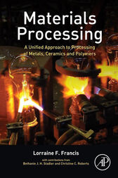 Materials Processing by Lorraine F. Francis