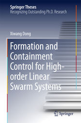 Formation and Containment Control for High-order Linear Swarm Systems by Xiwang Dong