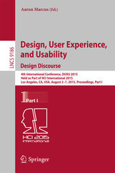 Design, User Experience, and Usability: Design Discourse by Aaron Marcus