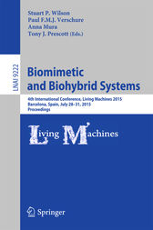 Biomimetic and Biohybrid Systems by Stuart P. Wilson