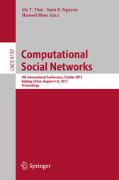 Computational Social Networks by My T. Thai