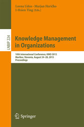 Knowledge Management in Organizations by Lorna Uden