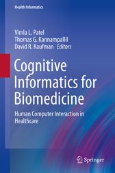 Cognitive Informatics for Biomedicine by Vimla L. Patel
