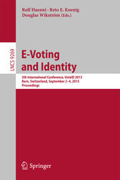 E-Voting and Identity by Rolf Haenni