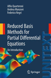 Reduced Basis Methods for Partial Differential Equations by Alfio Quarteroni