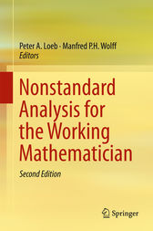 Nonstandard Analysis for the Working Mathematician by Peter A. Loeb