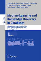Machine Learning and Knowledge Discovery in Databases by Annalisa Appice
