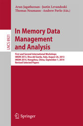 In Memory Data Management and Analysis by Arun Jagatheesan