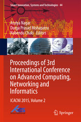 Proceedings of 3rd International Conference on Advanced Computing, Networking and Informatics by Atulya Nagar