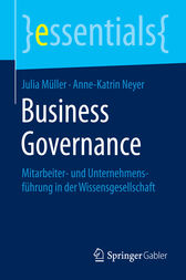 Business Governance by Julia Müller