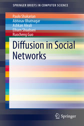 Diffusion in Social Networks by Paulo Shakarian