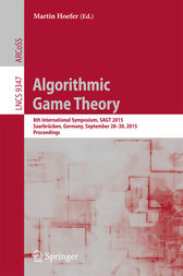 Algorithmic Game Theory by Martin Hoefer