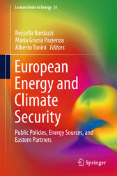 European Energy and Climate Security by Rossella Bardazzi