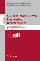 SDL 2015: Model-Driven Engineering for Smart Cities by Joachim Fischer