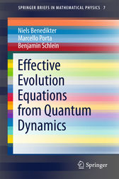 Effective Evolution Equations from Quantum Dynamics by Niels Benedikter