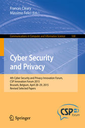 Cyber Security and Privacy by Frances Cleary
