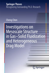 Investigations on Mesoscale Structure in Gas–Solid Fluidization and Heterogeneous Drag Model by Cheng Chen