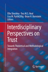 Interdisciplinary Perspectives on Trust by Ellie Shockley