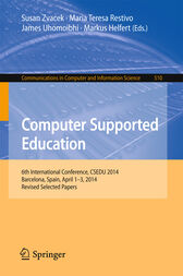 Computer Supported Education by Susan Zvacek
