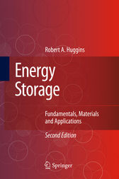 Energy Storage by Robert Huggins