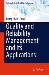 Quality and Reliability Management and Its Applications by Hoang Pham
