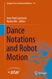 Dance Notations and Robot Motion by Jean-Paul Laumond