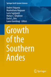 Growth of the Southern Andes by Andrés Folguera