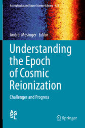 Understanding the Epoch of Cosmic Reionization by Andrei Mesinger
