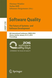 Software Quality. The Future of Systems- and Software Development by Dietmar Winkler