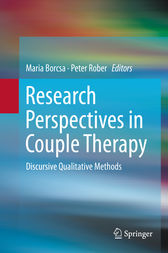 Research Perspectives in Couple Therapy by Maria Borcsa