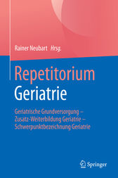 Repetitorium Geriatrie by Rainer Neubart