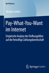 Pay-What-You-Want im Internet by Markus Gahler