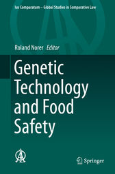 Genetic Technology and Food Safety by Roland Norer