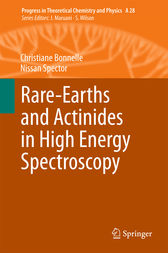 Rare-Earths and Actinides in High Energy Spectroscopy by Christiane Bonnelle