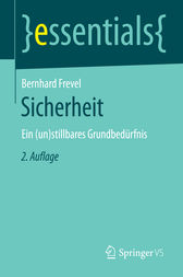 Sicherheit by Bernhard Frevel