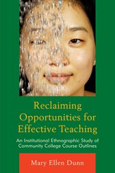 Reclaiming Opportunities for Effective Teaching by Mary Ellen Dunn